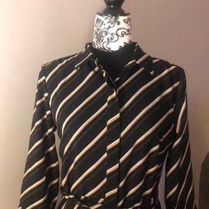 Banana Republic  NWT STRIPED Dress Size 6.